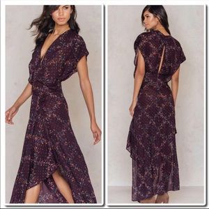 FREE PEOPLE one 'Livia' floral print maxi dress